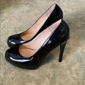 Chinese Laundry Black Patent Leather Heels